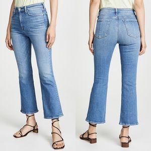 rag & bone Nina High Rise Ankle Flare Jeans